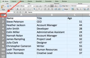 Trucchi su Excel