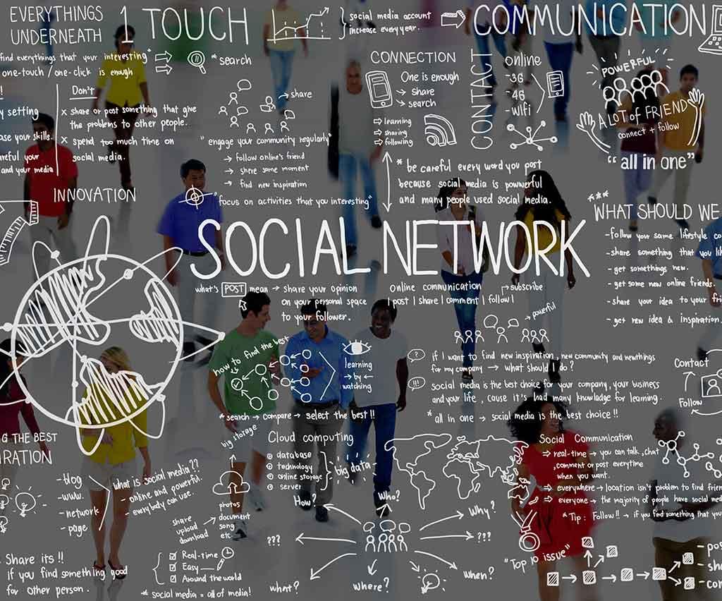 Lunghezza dei testi sui social media