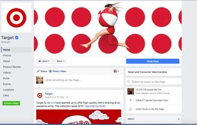 Nuova pagina Facebook aziendale