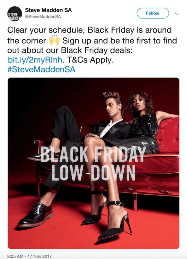 Black Friday Steve Madden